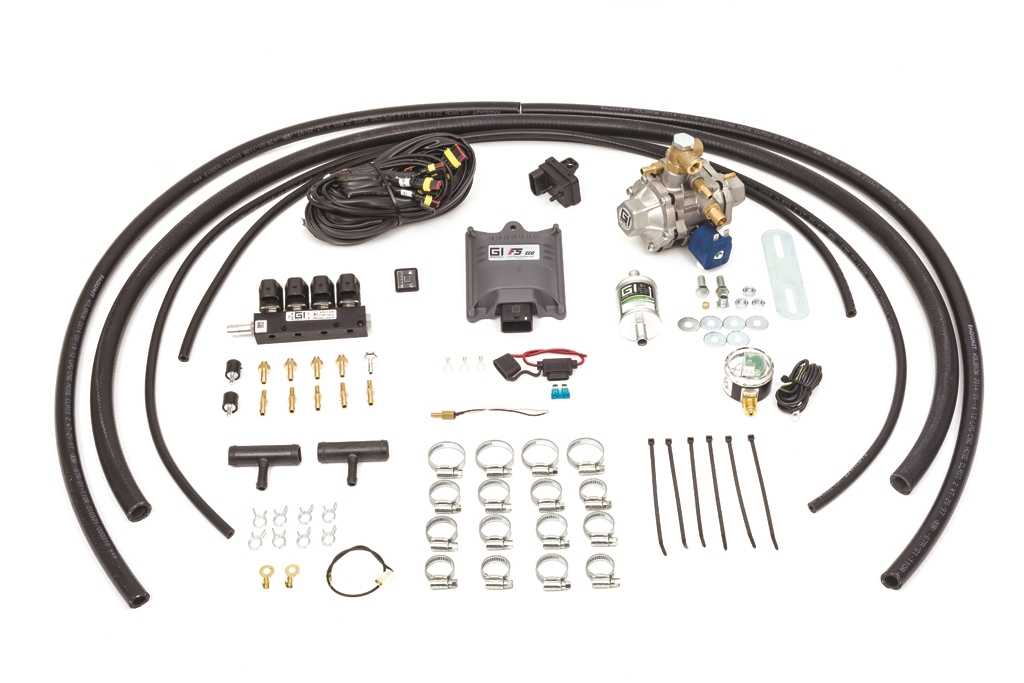 GASITALY SEQUENTIAL CNG KIT F5 ECO 4 CYL.