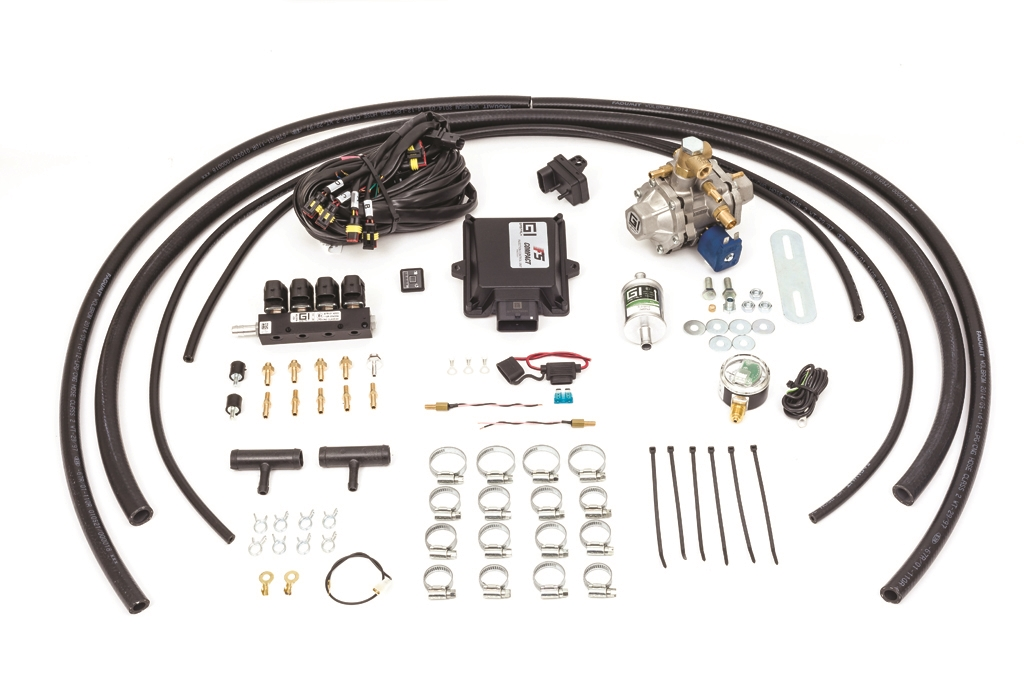 GASITALY SEQUENTIAL CNG KIT F5 COMPACT 4 CYL.