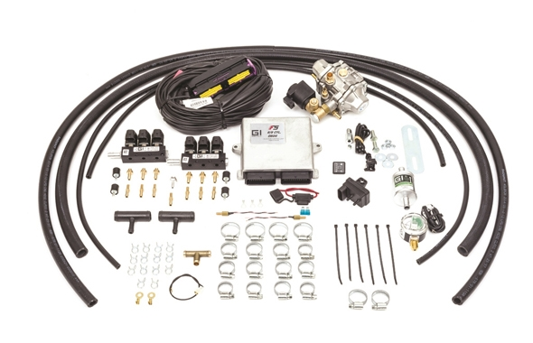 GASITALY SEQUENTIAL CNG KIT F5 OBDII 6 CYL.